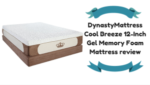 DynastyMattress Cool Breeze 12-Inch Gel Memory Foam Mattress review