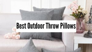 best outdoor throw pillow